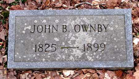 OWNBY, JOHN B. - Sevier County, Tennessee   JOHN B. OWNBY - Tennessee Gravestone Photos