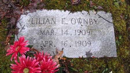 OWNBY, LILLIAN E. - Sevier County, Tennessee | LILLIAN E. OWNBY - Tennessee Gravestone Photos