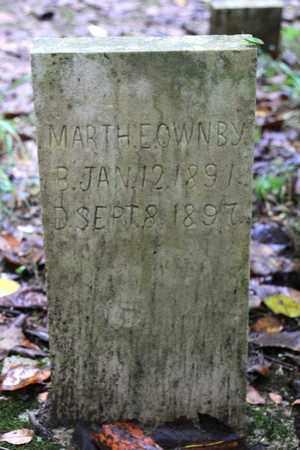 OWNBY, MARTHA E. - Sevier County, Tennessee | MARTHA E. OWNBY - Tennessee Gravestone Photos