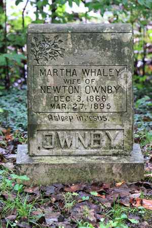 OWNBY, MARTHA - Sevier County, Tennessee   MARTHA OWNBY - Tennessee Gravestone Photos