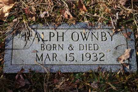 OWNBY, RALPH - Sevier County, Tennessee | RALPH OWNBY - Tennessee Gravestone Photos