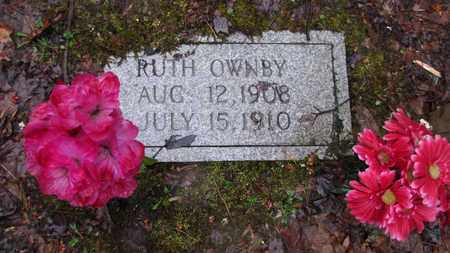 OWNBY, RUTH - Sevier County, Tennessee | RUTH OWNBY - Tennessee Gravestone Photos