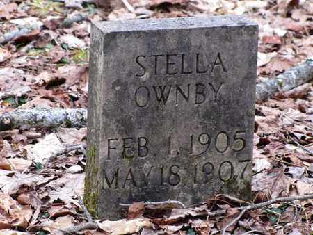 OWNBY, STELLA - Sevier County, Tennessee | STELLA OWNBY - Tennessee Gravestone Photos