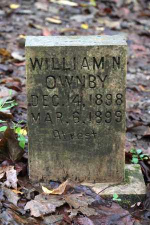 OWNBY, WILLIAM N. - Sevier County, Tennessee | WILLIAM N. OWNBY - Tennessee Gravestone Photos