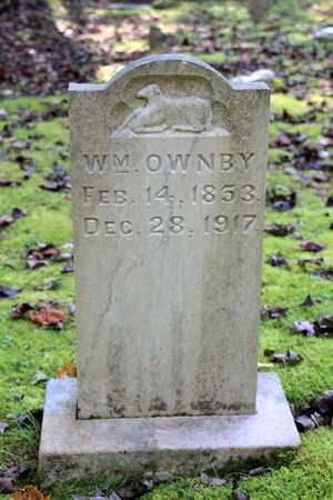 OWNBY, WILLIAM - Sevier County, Tennessee | WILLIAM OWNBY - Tennessee Gravestone Photos