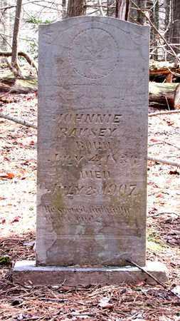 "RAMSEY JR, JOHNNIE ""JOHN"" - Sevier County, Tennessee | JOHNNIE ""JOHN"" RAMSEY JR - Tennessee Gravestone Photos"