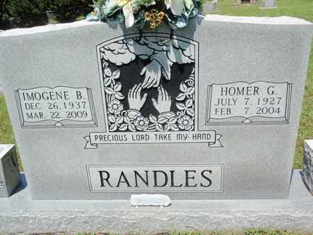 RANDLES, IMOGENE B - Sevier County, Tennessee | IMOGENE B RANDLES - Tennessee Gravestone Photos
