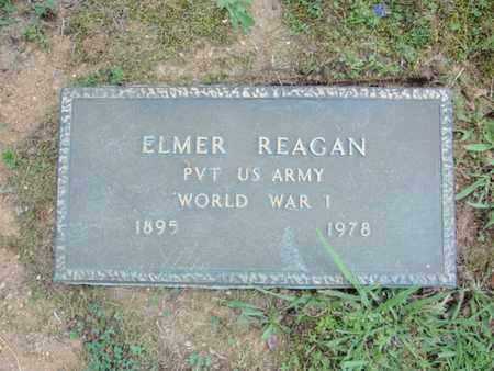 REAGAN  (VETERAN WWI), ELMER - Sevier County, Tennessee   ELMER REAGAN  (VETERAN WWI) - Tennessee Gravestone Photos
