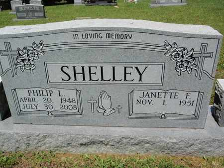 SHELLEY, PHILIP L - Sevier County, Tennessee | PHILIP L SHELLEY - Tennessee Gravestone Photos