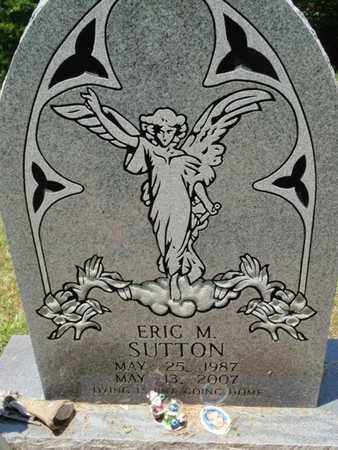 SUTTON, ERIC M - Sevier County, Tennessee | ERIC M SUTTON - Tennessee Gravestone Photos