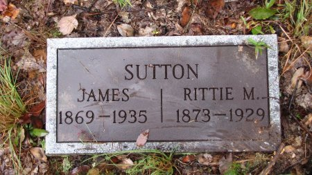 SUTTON, JAMES - Sevier County, Tennessee | JAMES SUTTON - Tennessee Gravestone Photos