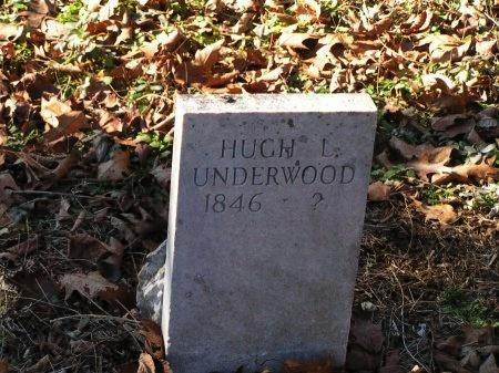 UNDERWOOD, HUGH L. - Sevier County, Tennessee | HUGH L. UNDERWOOD - Tennessee Gravestone Photos