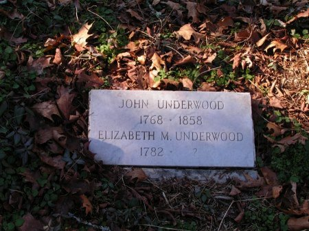 UNDERWOOD, ELIZABETH M. - Sevier County, Tennessee | ELIZABETH M. UNDERWOOD - Tennessee Gravestone Photos