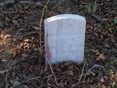 UNDERWOOD, J. H. - Sevier County, Tennessee | J. H. UNDERWOOD - Tennessee Gravestone Photos