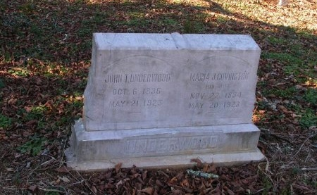 UNDERWOOD, MARIAH JANE - Sevier County, Tennessee | MARIAH JANE UNDERWOOD - Tennessee Gravestone Photos