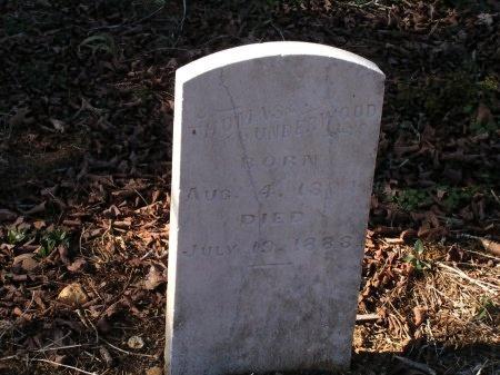 UNDERWOOD, THOMAS - Sevier County, Tennessee | THOMAS UNDERWOOD - Tennessee Gravestone Photos