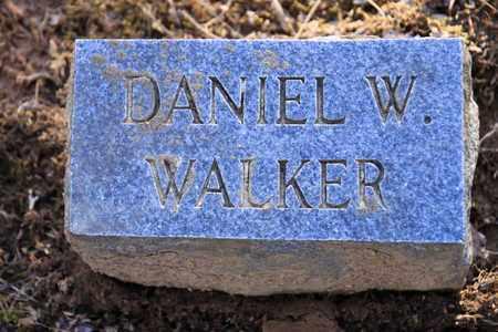 WALKER, DANIEL W - Sevier County, Tennessee | DANIEL W WALKER - Tennessee Gravestone Photos