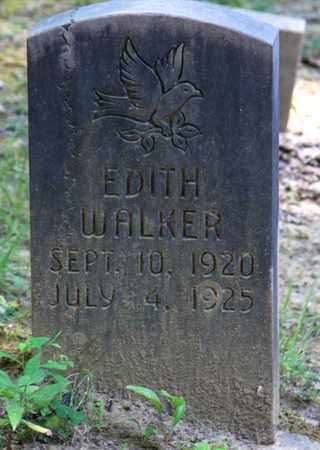 WALKER, EDITH - Sevier County, Tennessee | EDITH WALKER - Tennessee Gravestone Photos