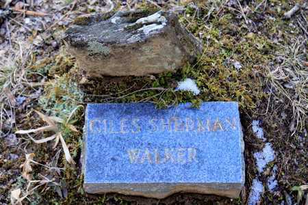 WALKER, GILES SHERMAN - Sevier County, Tennessee | GILES SHERMAN WALKER - Tennessee Gravestone Photos