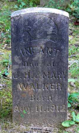 WALKER, INFANT DAUGHTER - Sevier County, Tennessee | INFANT DAUGHTER WALKER - Tennessee Gravestone Photos