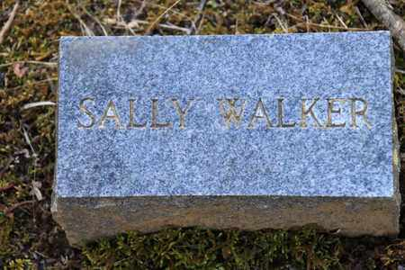 WALKER, SALLY - Sevier County, Tennessee | SALLY WALKER - Tennessee Gravestone Photos