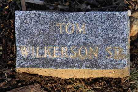 WILKERSON SR, TOM - Sevier County, Tennessee | TOM WILKERSON SR - Tennessee Gravestone Photos