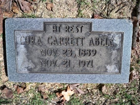 GARRETT ABELL, CORA - Shelby County, Tennessee | CORA GARRETT ABELL - Tennessee Gravestone Photos