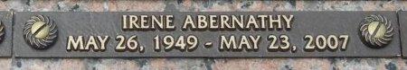 ABERNATHY, IRENE - Shelby County, Tennessee | IRENE ABERNATHY - Tennessee Gravestone Photos