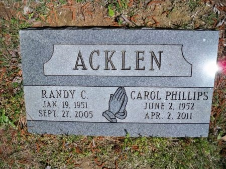 PHILLIPS ACKLEN, CAROL - Shelby County, Tennessee | CAROL PHILLIPS ACKLEN - Tennessee Gravestone Photos