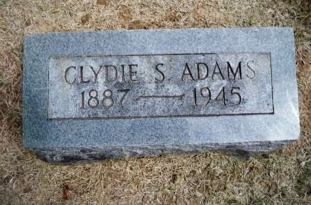 ADAMS, CLYDIE S. - Shelby County, Tennessee | CLYDIE S. ADAMS - Tennessee Gravestone Photos
