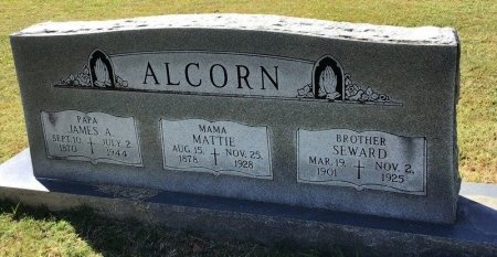ALCORN, JAMES A. - Shelby County, Tennessee | JAMES A. ALCORN - Tennessee Gravestone Photos