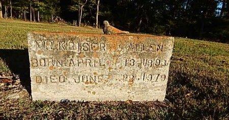 ALLEN, KRISER - Shelby County, Tennessee | KRISER ALLEN - Tennessee Gravestone Photos