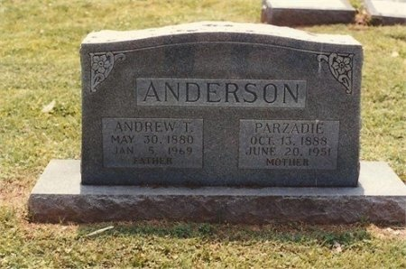 ANDERSON, ANDREW THOMAS - Shelby County, Tennessee | ANDREW THOMAS ANDERSON - Tennessee Gravestone Photos