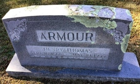 ARMOUR, HENRY THOMAS - Shelby County, Tennessee | HENRY THOMAS ARMOUR - Tennessee Gravestone Photos