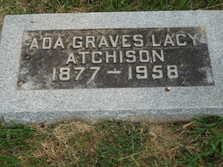 GRAVES ATCHISON, ADA - Shelby County, Tennessee | ADA GRAVES ATCHISON - Tennessee Gravestone Photos