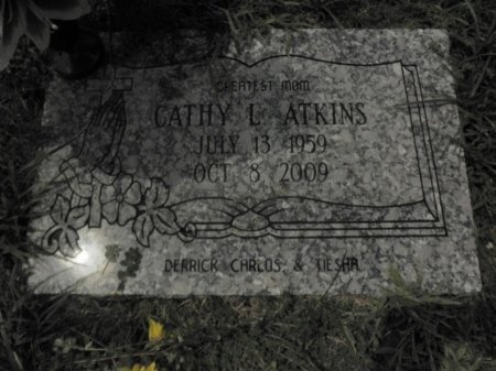 ATKINS, CATHY L. - Shelby County, Tennessee | CATHY L. ATKINS - Tennessee Gravestone Photos