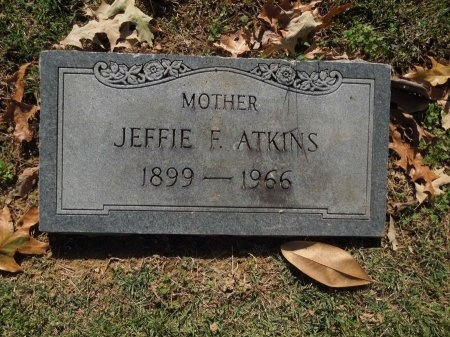 ATKINS, JEFFIE - Shelby County, Tennessee | JEFFIE ATKINS - Tennessee Gravestone Photos