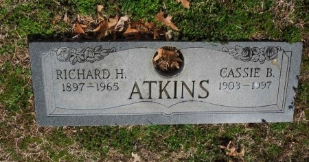 ATKINS, RICHARD H. - Shelby County, Tennessee | RICHARD H. ATKINS - Tennessee Gravestone Photos