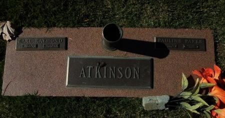 ATKINSON, PAULINE - Shelby County, Tennessee | PAULINE ATKINSON - Tennessee Gravestone Photos