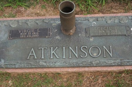 ATKINSON, CECIL L. - Shelby County, Tennessee | CECIL L. ATKINSON - Tennessee Gravestone Photos