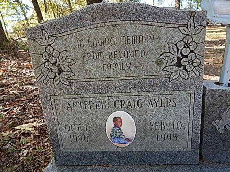 AYERS, ANTERRIO CRAIG - Shelby County, Tennessee | ANTERRIO CRAIG AYERS - Tennessee Gravestone Photos