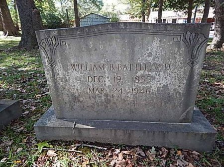 BATTLE, WILLIAM B (DOCTOR) - Shelby County, Tennessee | WILLIAM B (DOCTOR) BATTLE - Tennessee Gravestone Photos