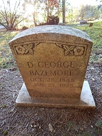 BAZEMORE, D GEORGE - Shelby County, Tennessee | D GEORGE BAZEMORE - Tennessee Gravestone Photos
