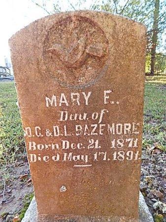 BAZEMORE, MARY E - Shelby County, Tennessee | MARY E BAZEMORE - Tennessee Gravestone Photos