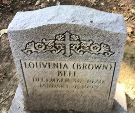 BROWN BELL, LOUVENIA - Shelby County, Tennessee | LOUVENIA BROWN BELL - Tennessee Gravestone Photos