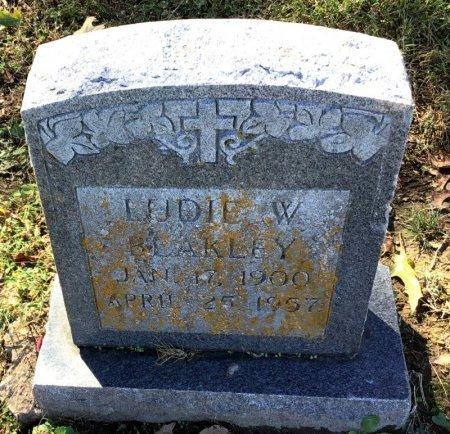 BLAKLEY, LUDIE W. - Shelby County, Tennessee   LUDIE W. BLAKLEY - Tennessee Gravestone Photos