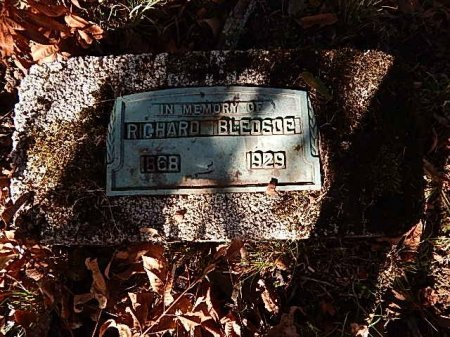 BLEDSOE, RICHARD - Shelby County, Tennessee | RICHARD BLEDSOE - Tennessee Gravestone Photos