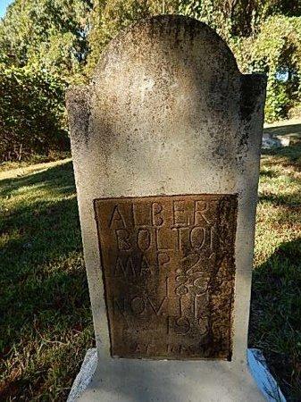BOLTON, ALBERT - Shelby County, Tennessee   ALBERT BOLTON - Tennessee Gravestone Photos