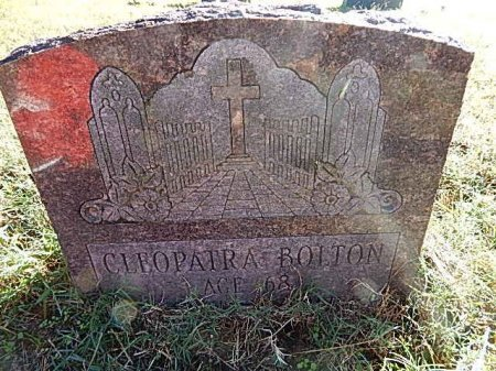 BOLTON, CLEOPATRA - Shelby County, Tennessee | CLEOPATRA BOLTON - Tennessee Gravestone Photos