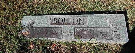 BOLTON, VIVIAN - Shelby County, Tennessee | VIVIAN BOLTON - Tennessee Gravestone Photos